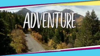 Honda Summer Spectacular Event TV Spot, 'Adventure' [T2] - Thumbnail 2