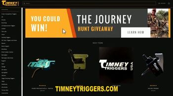 Timney Triggers The Journey Hunt Giveaway TV Spot, 'Your Shot' Featuring Dave Watson, Ted Nugent - Thumbnail 7