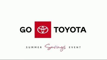 Toyota Summer Savings Event TV Spot, 'Enjoy the Outdoors' [T2] - Thumbnail 1