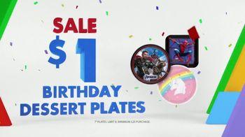 Party City TV Spot, 'Birthday Dessert Plates' - Thumbnail 3