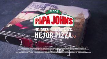 Papa John's XL Superhero Pizza TV Spot, 'Spider-Man: Far From Home: alimenta tu imaginación' [Spanish] - Thumbnail 9