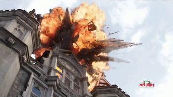 Papa John's XL Superhero Pizza TV Spot, 'Spider-Man: Far From Home: alimenta tu imaginación' [Spanish] - Thumbnail 3