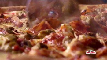 Papa John's XL Superhero Pizza TV Spot, 'Spider-Man: Far From Home: alimenta tu imaginación' [Spanish] - Thumbnail 4