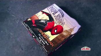 Papa John's XL Superhero Pizza TV Spot, 'Spider-Man: Far From Home: alimenta tu imaginación' [Spanish] - Thumbnail 7
