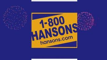 1-800-HANSONS TV Spot, 'Fireworks: Hail-Resistant Roofing' - Thumbnail 1
