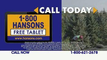 1-800-HANSONS TV Spot, 'Fireworks: Hail-Resistant Roofing' - Thumbnail 6