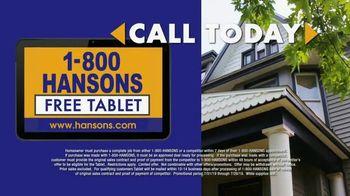 1-800-HANSONS TV Spot, 'Home Improvement: Siding' - Thumbnail 6