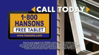 1-800-HANSONS TV Spot, 'Home Improvement: Windows'