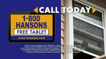 1-800-HANSONS TV Spot, 'Home Improvement: Windows' - Thumbnail 7