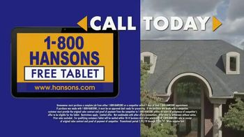 1-800-HANSONS TV Spot, 'Home Improvement: Roofing' - Thumbnail 5