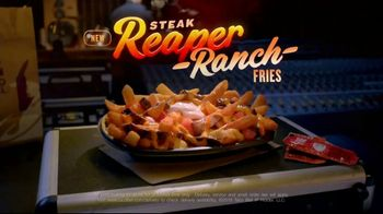 Taco Bell Steak Reaper Ranch Fries TV Spot, 'Turn Up the Heat'