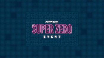 AutoNation Super Zero Event TV Spot, 'Absolutely Zero at Signing' - Thumbnail 1