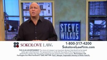 Sokolove Law TV Spot, \'Injured at Birth\' Featuring Steve Wilkos