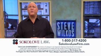 Sokolove Law TV Spot, 'Injured at Birth' Featuring Steve Wilkos - Thumbnail 4
