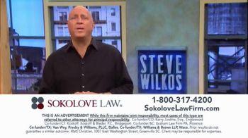 Sokolove Law TV Spot, 'Injured at Birth' Featuring Steve Wilkos - Thumbnail 6