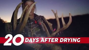 Wildlife Research Center Scent Killer Gold TV Spot, '20 Days' Featuring Tiffany Lakosky - Thumbnail 8