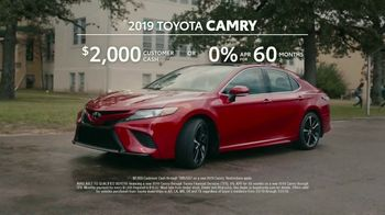 2019 Toyota Camry TV Spot, 'That's My Ride' [T2] - Thumbnail 7