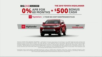 Toyota Big One Sales Event TV Spot, 'Easy: Bigfoot' [T1] - Thumbnail 7