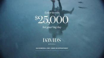 David's Bridal Win Your Wedding Sweepstakes TV Spot, 'Find the Dress of Your Dreams' - Thumbnail 9