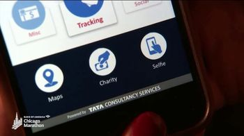 Bank of America Chicago Marathon TV Spot, 'Marathon Moments: Mobile App' - Thumbnail 3