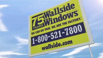 Wallside Windows TV Spot, 'Get More: Half-Off' - Thumbnail 7