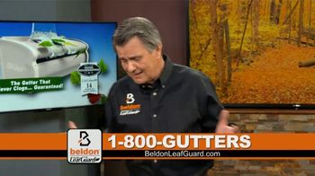 Beldon LeafGuard TV Spot, 'Clogged Gutters: 75 Percent Off' - Thumbnail 2