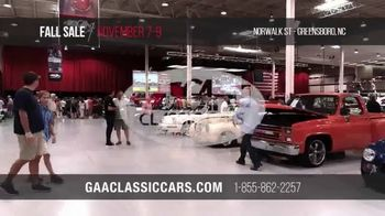 GAA Classic Cars Fall Sale TV Spot, '2019 Greensboro' - Thumbnail 9