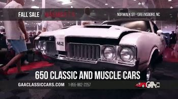 GAA Classic Cars Fall Sale TV Spot, '2019 Greensboro' - Thumbnail 4