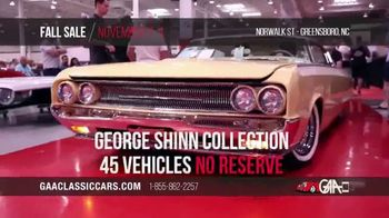 GAA Classic Cars Fall Sale TV Spot, '2019 Greensboro' - Thumbnail 6