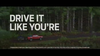 Ford Ranger TV Spot, 'Drive It: Off the Grid' Song by Little Richard [T1] - Thumbnail 2