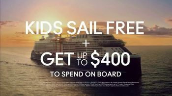 Celebrity Cruises TV Spot, 'Dream: Kids Sail Free' Song by Jefferson Airplane - Thumbnail 9