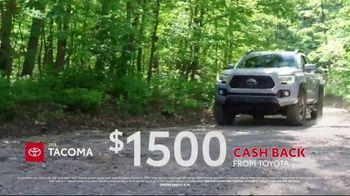 Toyota Go Time Sales Event TV Spot, 'Kick Up Some Dirt' [T2] - Thumbnail 4
