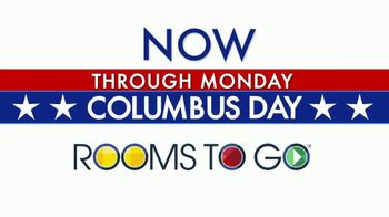 Rooms to Go Columbus Day TV Spot, 'Opportunity' - Thumbnail 2