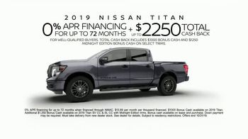 2019 Nissan Titan TV Spot, 'Calling All Titans' [T2] - Thumbnail 8
