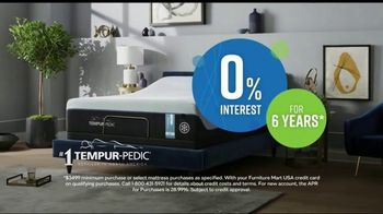 Ashley HomeStore Discover Mattress Savings Event TV Spot, 'Chime and Tempur-Pedic' - Thumbnail 5
