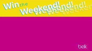 Belk Friends & Family Sale TV Spot, 'Win the Weekend' - Thumbnail 4