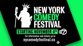 2019 New York Comedy Festival TV Spot, 'A Whole Lotta Laughs' - Thumbnail 4