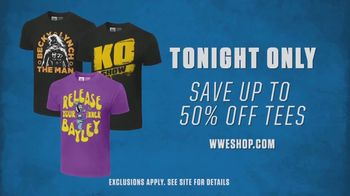 WWE Shop TV Spot, 'Up to 50 Percent Off Tees' Song by SATV Music - Thumbnail 7