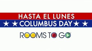 Rooms to Go TV Spot, '2019 Columbus Day: 10 días' [Spanish] - Thumbnail 1