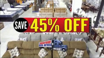 American Freight Semi-Annual Sale TV Spot, 'Dining Sets, Mattress and Recliners' - Thumbnail 1