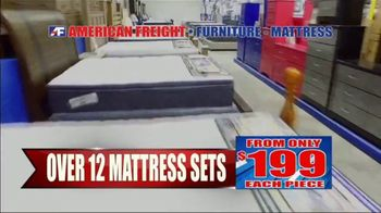 American Freight Semi-Annual Sale TV Spot, 'Dining Sets, Mattress and Recliners' - Thumbnail 3