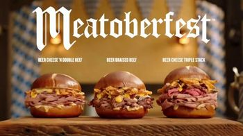 Arby's Meatoberfest TV Spot, 'Sandwich Celebration' Song by YOGI