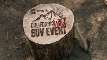 Toyota California Wild SUV Event TV Spot, 'Pass to the Great Outdoors' [T2] - Thumbnail 3