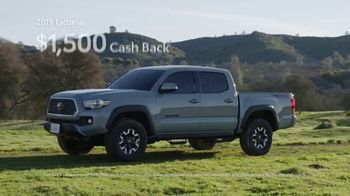Toyota California Wild SUV Event TV Spot, 'Pass to the Great Outdoors' [T2] - Thumbnail 7