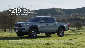 Toyota California Wild SUV Event TV Spot, 'Pass to the Great Outdoors' [T2] - Thumbnail 8