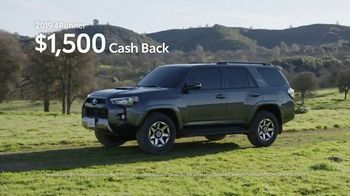 Toyota California Wild SUV Event TV Spot, 'Pass to the Great Outdoors' [T2] - Thumbnail 9