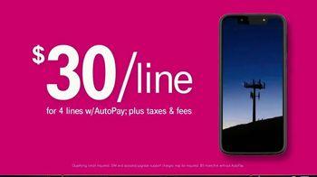 T-Mobile TV Spot, 'Signal: $30 Per Line' - Thumbnail 4