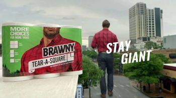 Brawny Tear-A-Square TV Spot, 'Song: Messes' - Thumbnail 8