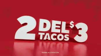 Del Taco TV Spot, 'Double the Taco: Two for $3' - Thumbnail 7