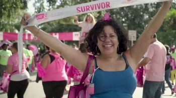 American Cancer Society TV Spot, 'Making Strides Against Breast Cancer 2019' - Thumbnail 8